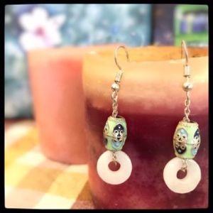 Vintage look Dangle earrings
